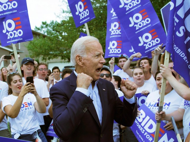 Joe Biden has been a self-professed gaffe machine for decades but Democratic primary voters don't seem to care, yet