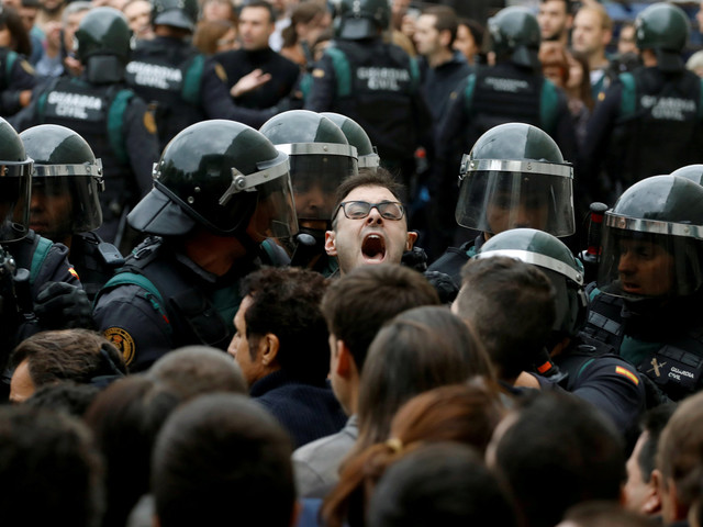Catalonia: UK Government Avoids Condemnation Of Police Violence, In Contrast To Most In British Politics