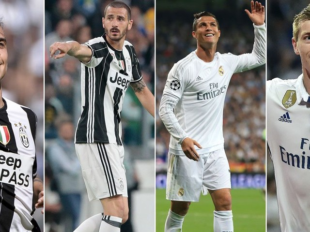 Juventus vs Real Madrid combined XI as the Old Lady aim to stop Los Blancos in Champions League final