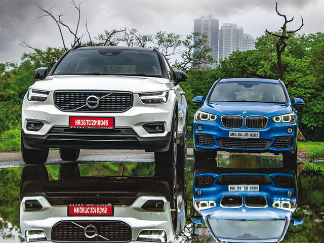 Review: 2018 Volvo XC40 vs BMW X1 comparison