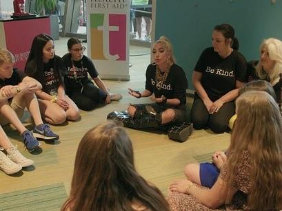 Lady Gaga Announces teen Mental Health First Aid Pilot Program Will Expand