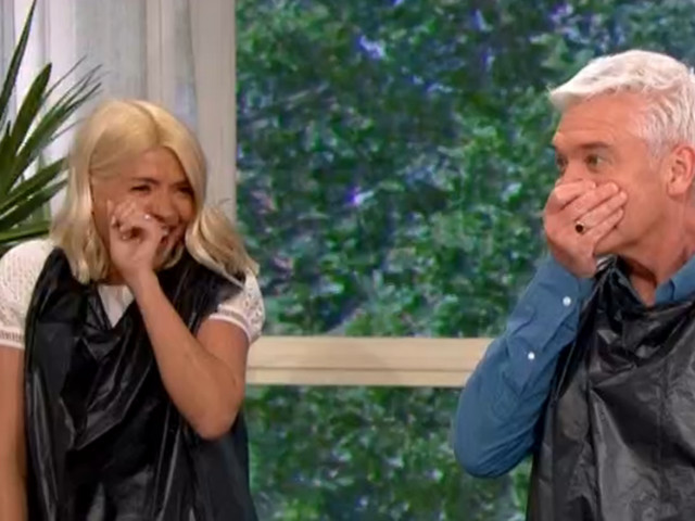 ITV This Morning mishap shocks Holly Willoughby and Phillip Schofield