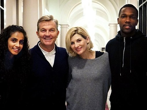 Doctor Who: Bradley Walsh one of THREE new companions