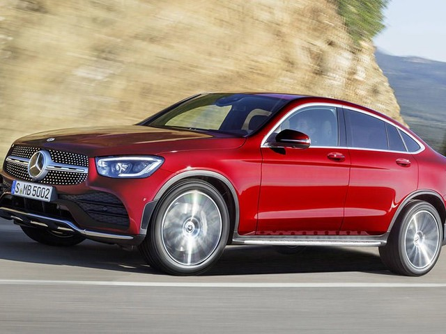 2020 Mercedes-Benz GLC Coupe gets big tech upgrade, still isn't a coupe - Roadshow