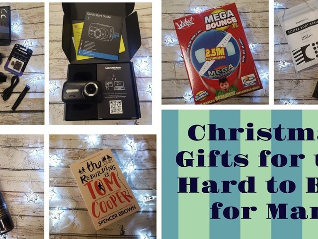 Christmas Gift Guide - For the Hard to Buy for Man - 12 Great Ideas