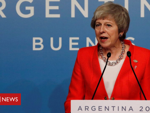 Brexit: Theresa May seeks to reassure world leaders