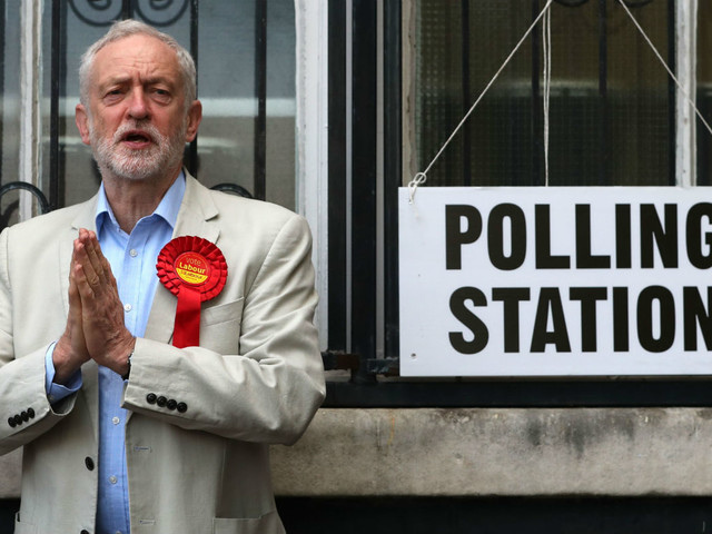 Jeremy Corbyn on course for Downing Street