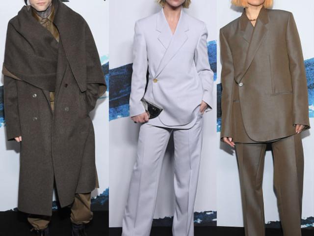 Front Row @ Dior Men's Fall 2019