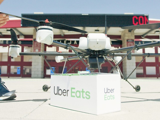 Uber says it will deliver McDonald's meals via drones in San Diego as soon as this year (UBER)