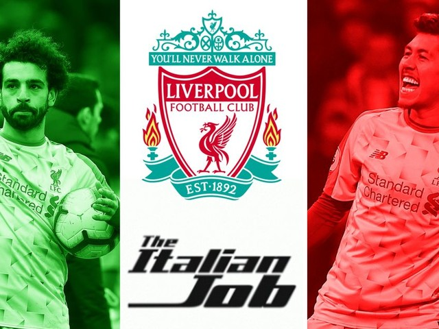 Mohamed Salah and Roberto Firmino chase Liverpool legend as Reds look to complete another Italian Job