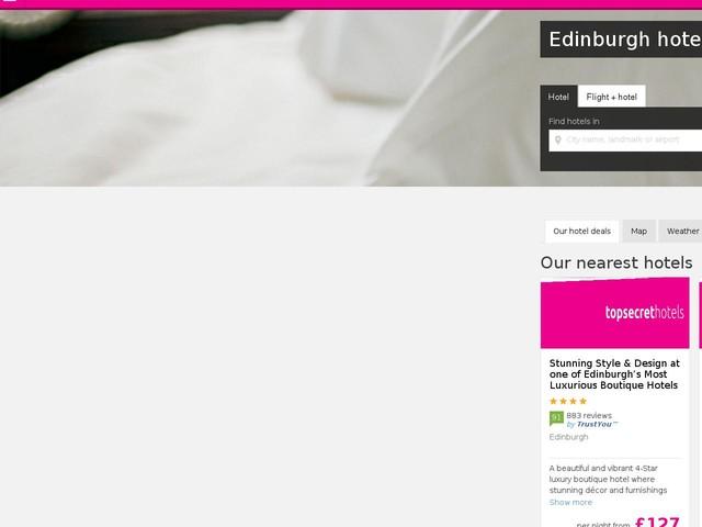 Edinburgh Cheap Hotel Room