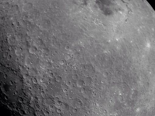 Spectacular image of the moon reveals lunar surface from Chandrayaan-2 spacecraft