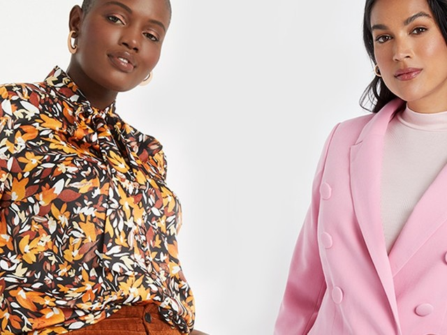 ELOQUII's Fall 2019 Collection Has The Pink Suit Of Your Dreams & So Much More