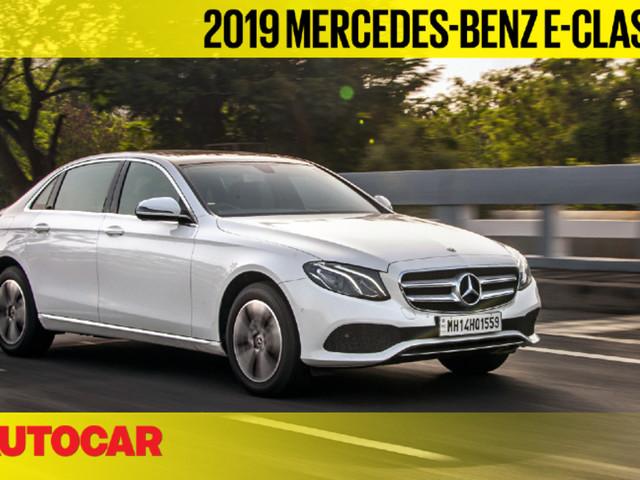 Review: 2019 Mercedes-Benz E 220d BS6 video review