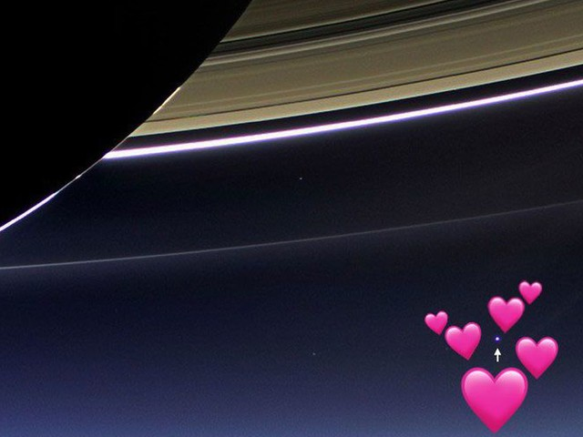 Earth sends Cassini a whole lot of love after the mission comes to a bittersweet end