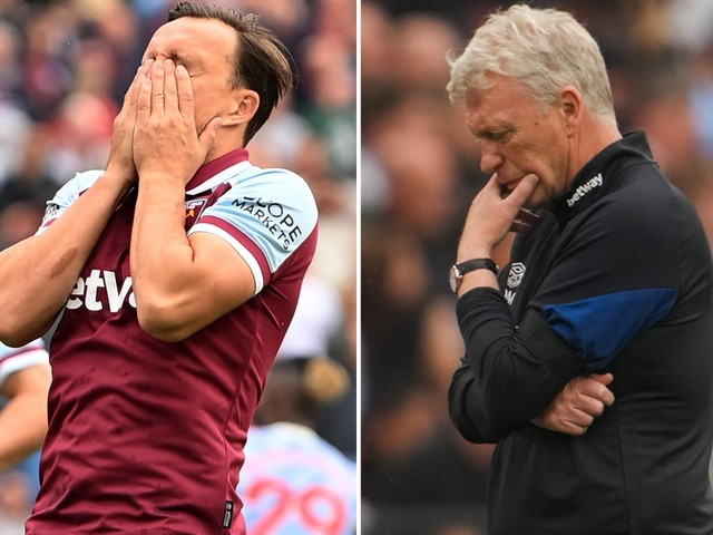 Mark Noble and David Moyes comments come back to haunt them after West Ham captain's penalty remark before Man Utd loss
