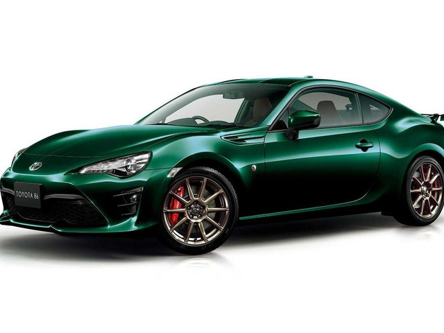Toyota 86 British Green Limited: Another Japan-only Special Edition