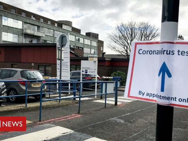 Coronavirus: Edinburgh hospital 'calm, controlled and ready'