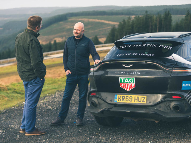 First drive: 2020 Aston Martin DBX prototype