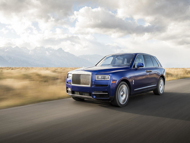 Rolls Royce Cullinan 2018 review