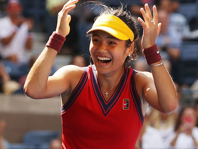 Emma Raducanu Reaches US Open Semi-Finals And Britain Is Loving It