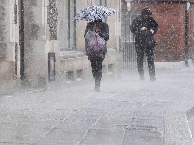 UK Weather: Met Office Issue Severe Warnings For Rain And Gales