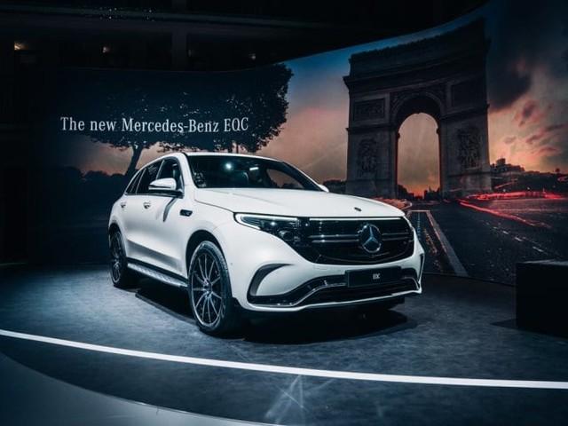 2018 paris motor show mercedes benz eqc electric suv showcased rh uk anygator com