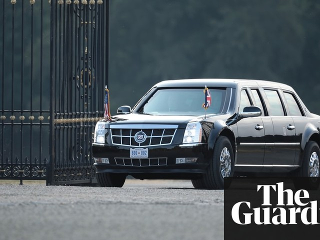 a different sort of car for trump s motorcade brief letters rh uk anygator com