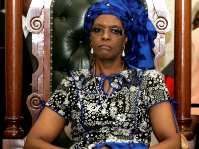 Grace Mugabe claims diplomatic immunity in S. Africa assault case