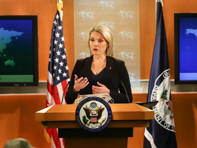 Heather Nauert: former Fox News host to be Trump UN ambassador