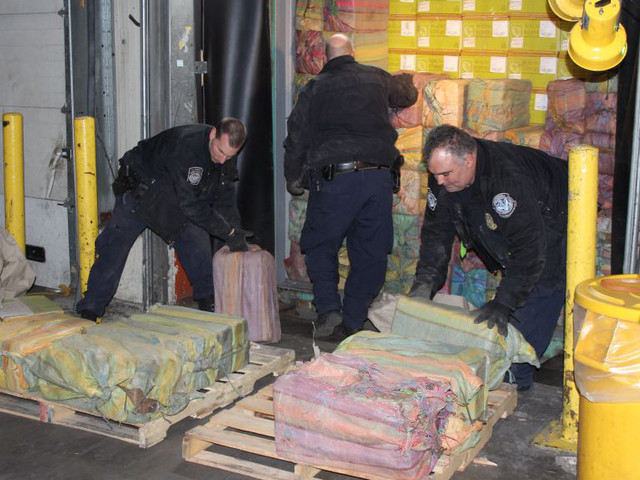 Approximately 3,200 Pounds Of Cocaine Found In Newark Shipping Container