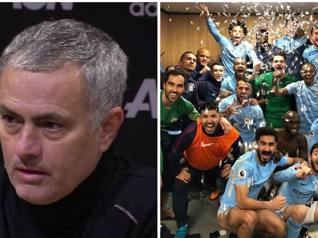 Manchester United manager Jose Mourinho involved in dressing room clash with Man City