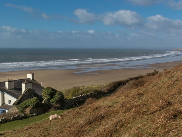 Wales' most exclusive holiday cottage sat on a world famous bay