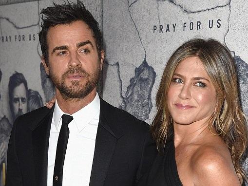 Jennifer Aniston and Justin last met on Valentine's Day