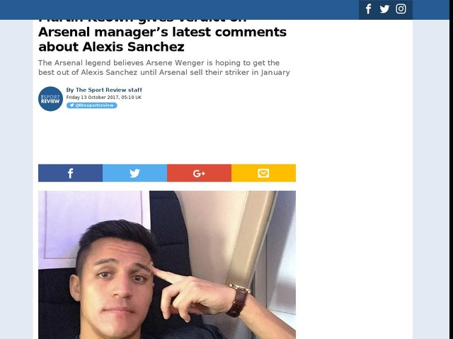 Martin Keown gives verdict on Arsenal manager's latest comments about Alexis Sanchez