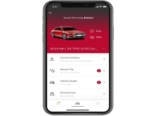 Audi brings its connected car technology to India