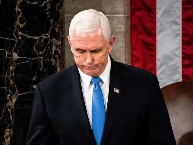Trump backers called Pence a 'traitor' during CPAC, mocked the ex-VP for skipping the confab, and gave him just 1% in a poll of potential 2024 GOP presidential contenders