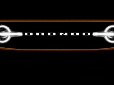 2021 Ford Bronco Front Grille, LED Headlights Teased, Reveal Will Be Televised