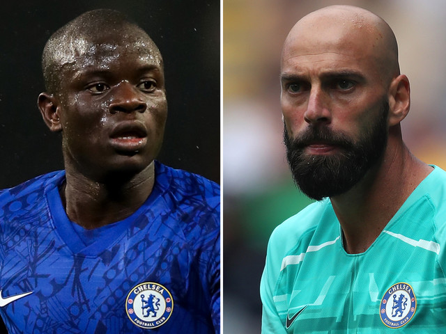 Willy Caballero backs Chelsea team-mate N'Golo Kante over training absence after 'bad time' with coronavirus symptoms