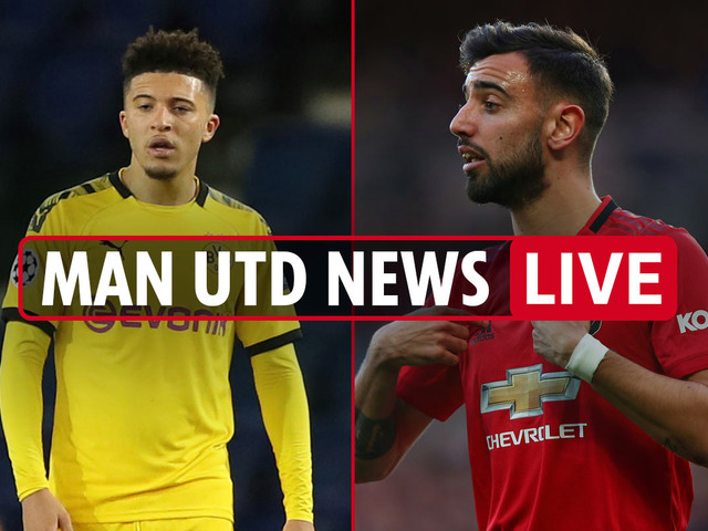 10.30pm Man Utd news LIVE: Sancho 'cheeky' Man City bid, Bruno Fernandes transfer money BLOCKED, Koulibaly not wanted