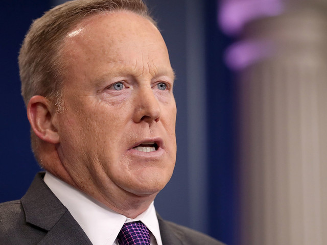Donald Trump's Press Secretary Sean Spicer Resigns Over Hiring Of Communications Aide