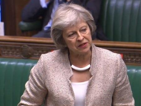 Theresa May hits out at Boris Johnson for making David Frost national security adviser despite 'no proven experience'