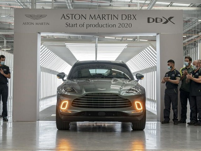 First Aston Martin DBX rolls off fresh production line in Wales - Roadshow