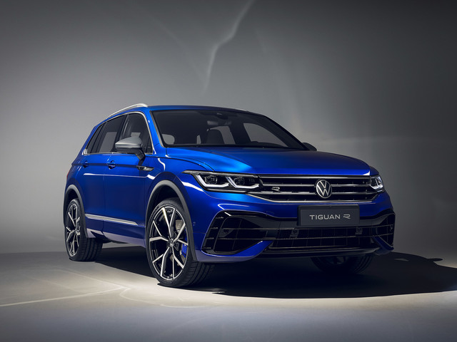 Volkswagen Tiguan R spied – mid-sized SUV to feature Golf R powertrain