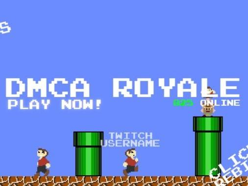 Cease-and-desist transforms Mario Royale into DMCA Royale