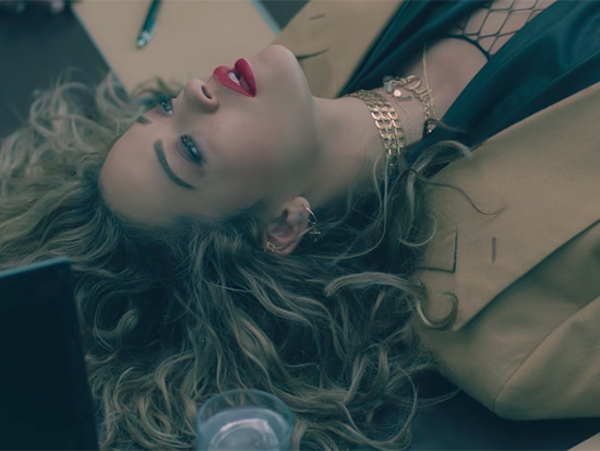 """Love In A Corporate Place: Rita Ora's Quirky """"Your Song"""" Video"""