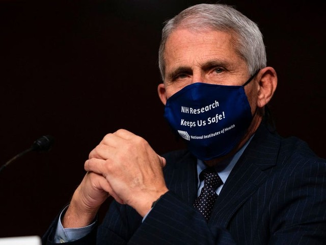 Fauci suggested a face mask mandate and warned that the general public might not get a COVID-19 vaccine until mid-2021