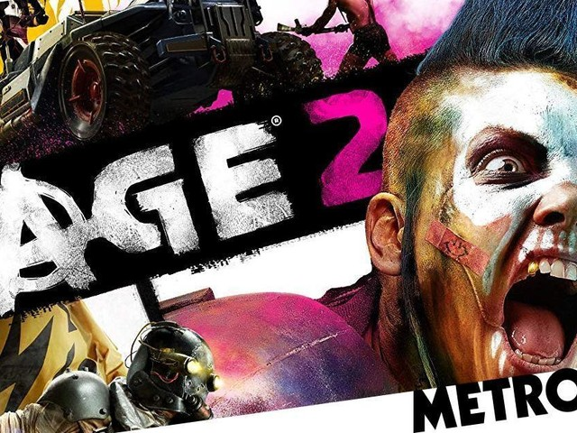 Rage 2 knocks Days Gone from UK number one – Games charts 18 May