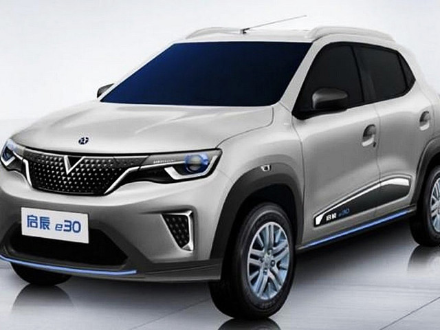Venucia E30 Revealed, Rebadged Kwid EV