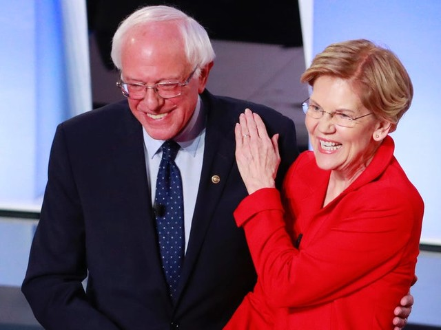 Bernie Sanders and Elizabeth Warren are calling for massive wealth taxes on the super-rich. Voters like it so much that moderate 2020 Democrats are coming around.